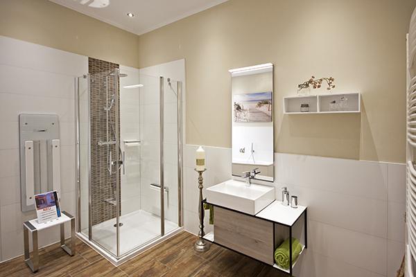 Ausstellung für luxuriöse, hochwertige und langlebige Badezimmer in Berlin Charlottenburg.