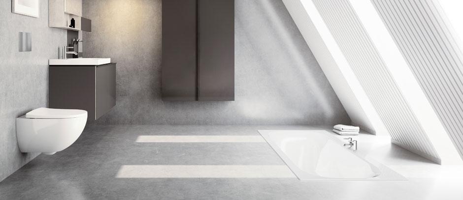 Fliesenlose Bäder – Alternativen zu Fliesen im Bad